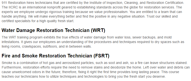 911 Restoration of Bronx Certification Page